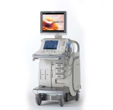 腹部用超音波診断装置 TOSHIBA Aplio300 TUS-A300