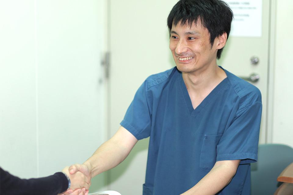内視鏡外科医長 小林弘典