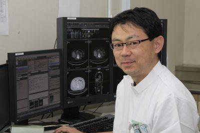 放射線診断科医長 稗田 雅司