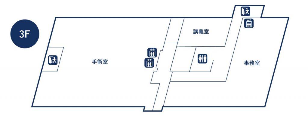 手術室/医局/事務室/講義室